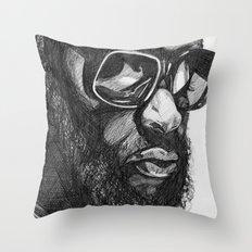 Rick Ross Throw Pillow