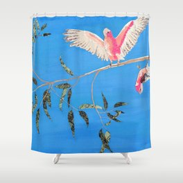 Present Silliness Shower Curtain