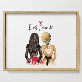 Friendship gift/ unique best friends gift Serving Tray