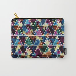 Bohemian Triangles Carry-All Pouch