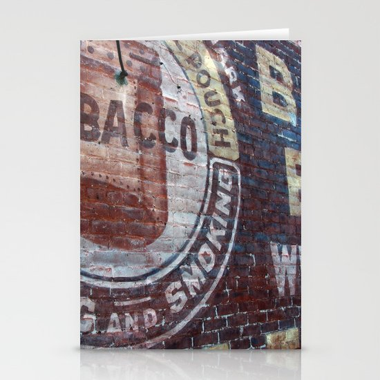 West Virginia Tobacco Stationery Cards
