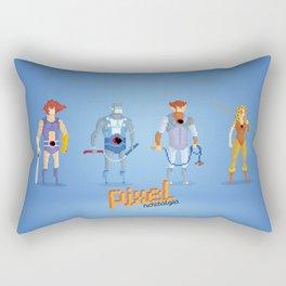 Thundercats - Pixel Nostalgia  Rectangular Pillow