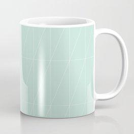Mint Triangles by Friztin Coffee Mug