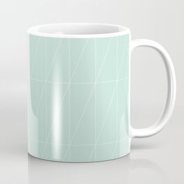Mint Triangles by Friztin Coffee Mug