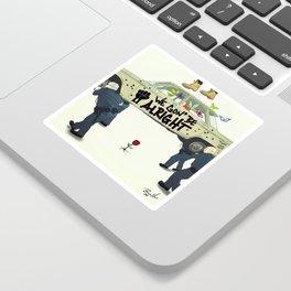 Kendrick Lamar - We Gon' Be Alright Sticker