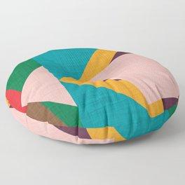 Kilim flower Floor Pillow