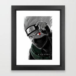 KAKASHI Framed Art Print