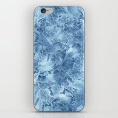 Frozen Leaves 8 iPhone & iPod Skin