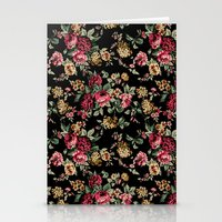 vintage flowers Stationery Cards featuring Vintage Flowers by Eduardo Doreni