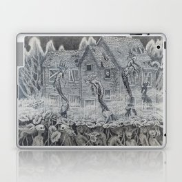 Lotus Teeth (collaboration with Kevin Newell of Evergreen Illustration) Laptop & iPad Skin