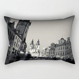 The Orloj: Prague, Czech Republic.  Rectangular Pillow
