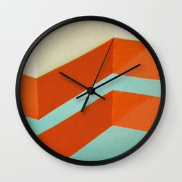 Direction Change 8 Wall Clock