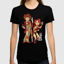 The Doctor, The Warrior, and K-9 T-shirt