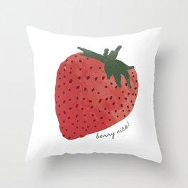 Berry Nice! Throw Pillow