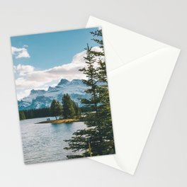 Two Jack Lake & Mt. Rundle Stationery Cards