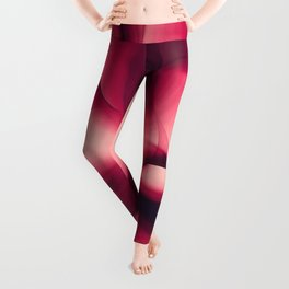 Splash of Wine Fractal Leggings