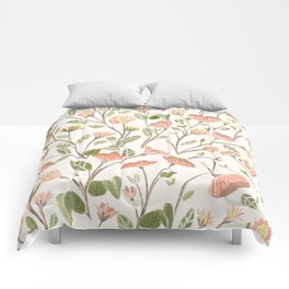 Spring Floral Pattern Comforters
