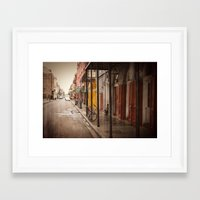 new orleans Framed Art Prints featuring New Orleans by Kayla Nicole