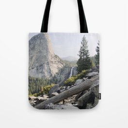 Liberty Cap and Nevada Falls in Morning Light Tote Bag