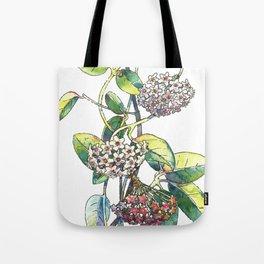 Light white-pink flower - HOYA Tote Bag