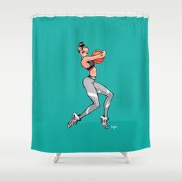 CoolNoodle and Jordan6 Gatorade Shower Curtain