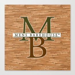 Mens Barehouse Wood Edition Canvas Print