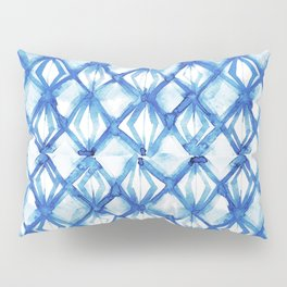 Nautical mermaid scales Pillow Sham