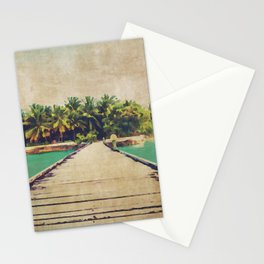 Watercolor Beach Walk  Stationery Cards