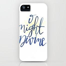 O Night Divine iPhone Case