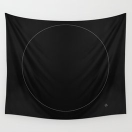 The White Circle Wall Tapestry