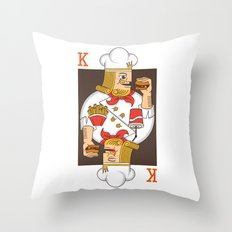 Burger King Throw Pillow