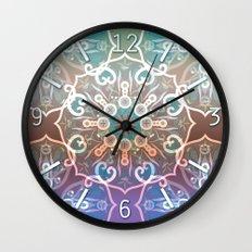 Mandala ornament Wall Clock