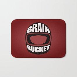 Brain bucket Bath Mat