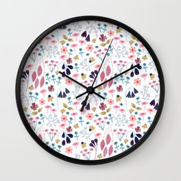 Florals Wall Clock