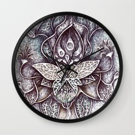 Imaginary Botany Wall Clock