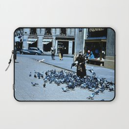 Days Long Past: Pigeon Lady Laptop Sleeve
