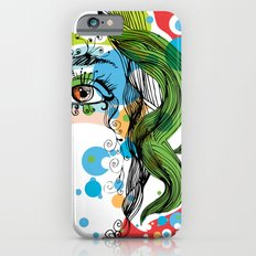 floral girl Slim Case iPhone 6s