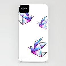 Origami Pastels Slim Case iPhone (4, 4s)