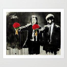 PULP ROMANCE Art Print