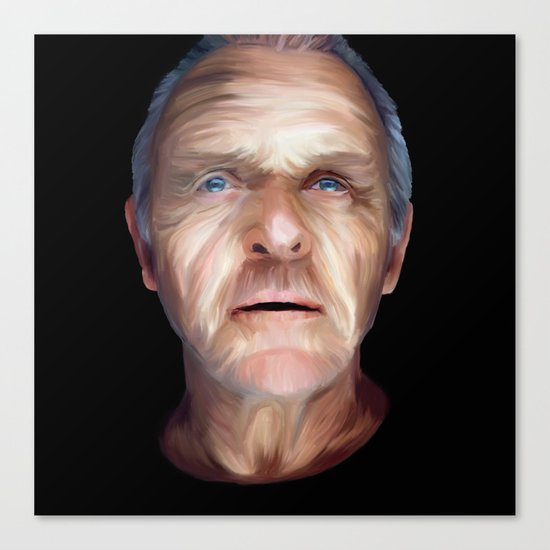 Anthony Hopkins Canvas Print