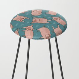 Pattern Project #52 / Piglets Counter Stool
