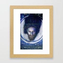 Fatale - John - Silver Framed Art Print