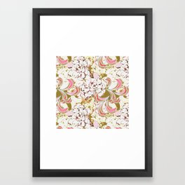 Gardenia Daydream Framed Art Print