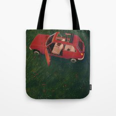 I'll Be Back In 20 Years Tote Bag