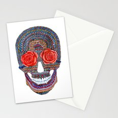roses die Stationery Cards