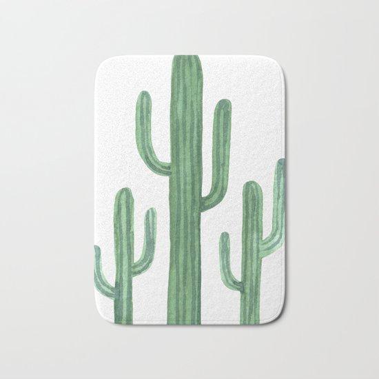 Desert Cacti 3 Bath Mat