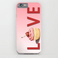 Perfect Pink Cupcake LOVE Slim Case iPhone 6s