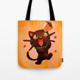Choco Cat Tote Bag
