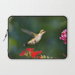 Summer Hummingbird Laptop Sleeve