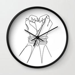 Bound Love Wall Clock